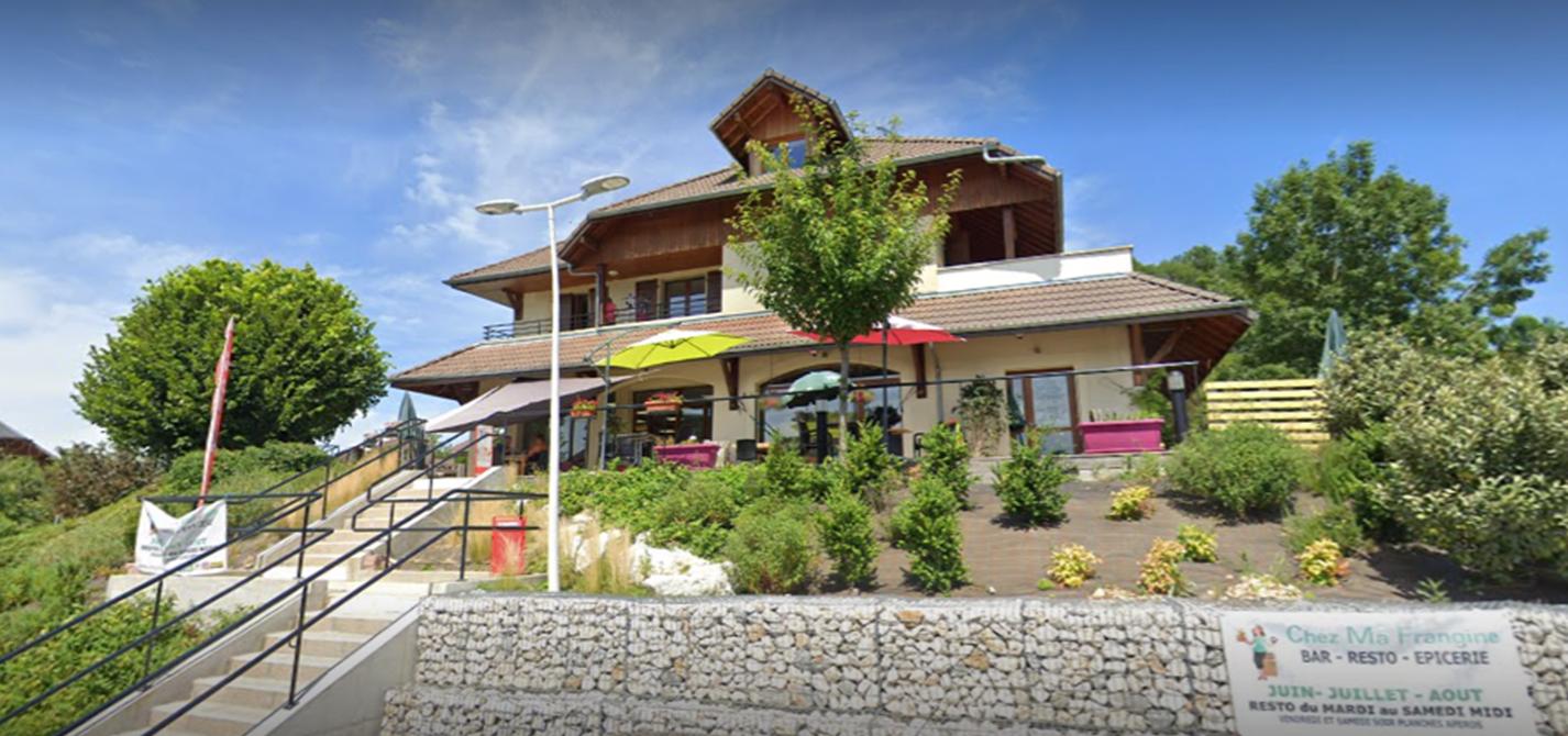 """Vente du Bar Restaurant épicerie """"CHEZ MA FRANGINE"""" à  Chainaz-les-Frasses"""